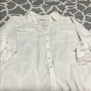 NY&C white blouse - new with tags!